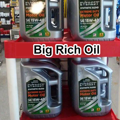 BIG RICH OIL: AMERICAN OIL DISTRIBUTORS - ENJOY THE ROAD WITH THE